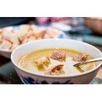 Суп-пюре из цуккини и карри