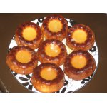 Творожные кексы с лимонной глазурью