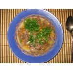 Суп из говяжьего хвоста с нутом