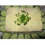 Слоеный салат Кирпичик с курочкой