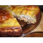 Пирог из лаваша в сладкой заливке