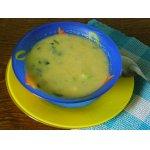 Суп-пюре из патиссона с сельдереем