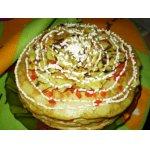 Кабачково-яичный торт