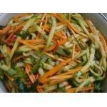 Салат из сырого кабачка по-корейски