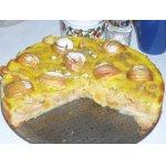 Пирог кремово-яблочный