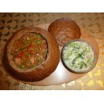 Украинский борщ в хлебе с Подарком от шеф-повара