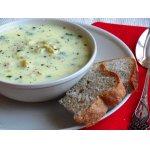 Перловый суп с йогуртом