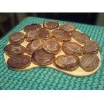 Кофейные оладьи с клубнично-шоколадным вкусом