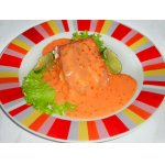 Лосось под имбирно-сливочным соусом – кулинарный рецепт