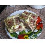 Мясная запеканка с сыром и брокколи