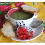 Суп-пюре из брокколи и кукурузы