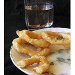 Кальмары-фри с испанским соусом