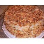 Торт слоеный постный а-ля Наполеон