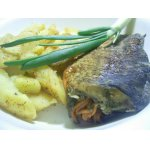 Рыба с гарниром – кулинарный рецепт