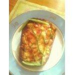 Бутерброд с крабовыми палочками и сыром
