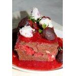 Шоколадный десерт Обжора
