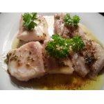 Морская рыба по-венгерски