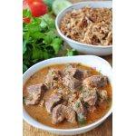 Говядина в остром соусе по-арабски