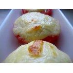 Помидоры с суфле из сыра
