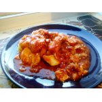Филе судака в томатном соусе