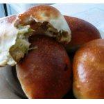 Пирожки с молодой капустой и сыром
