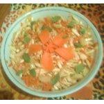 Салат с сельдерем, морковью и кабачками
