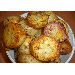Молодой картофель с травами