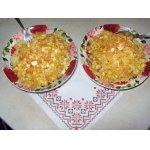 Макароны в луковом соусе