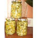 Салат на зиму из свежих огурцов
