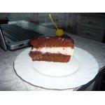 Шоколадный тортик с вишней
