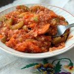 Овощи с рисом Завтрак домоседа