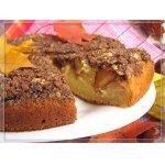 Пирог с айвой, грушей и штрейзелем