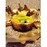 Кексы в листьях c осенним вкусом