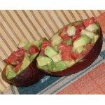 Сырный салат с авокадо
