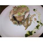 Салат из баклажанов и курицы Катюша