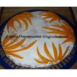 Тыквенно-ванильный пирожок