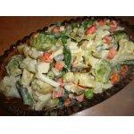 Салат из замороженных овощей