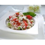 Салат с рисом и перцами