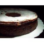 Пирог из хурмы с миндалем