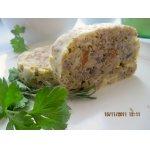 Гречнево-сырный рулет с грибами