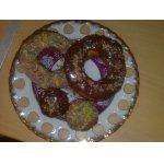 Творожные пончики в сахарной глазури