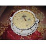 Грибной суп-пюре с плавленым сырком