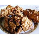 Печенье из кукурузных хлопьев с орехами