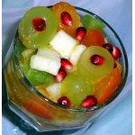 Фруктовый салат с медом и цедрой