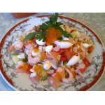 Новогодний салат Русалочка