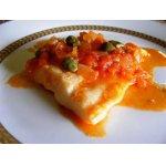 Рыба в томатном соусе с каперсами