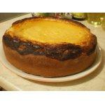 Открытый тыквенно-творожный пирог