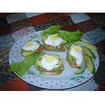 Закуска из форели с авокадо – кулинарный рецепт