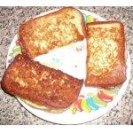 """Французский сэндвич """"в шубе"""" – кулинарный рецепт"""