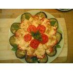 "Баклажановый цветок ""Марх"" – кулинарный рецепт"
